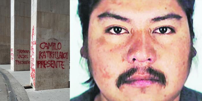 Imagen del joven Mapuche Camilo Catrillanca asesinado por fuerzas especiales de Carabineros en 2018